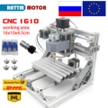 CNC1610, Mini enrutador de madera cnc diy, área de trabajo 160x100x45mm 3 ejes máquina de tallado de madera, Control Grbl,