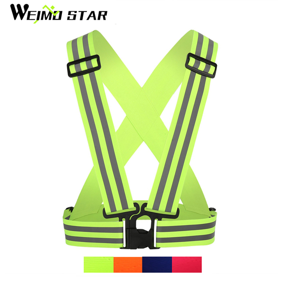 Detail Feedback Questions about WEIMOSTAR Children mtb Cycling Vest 4cm  Reflective Lightweight adjustable Safety Kid Bike Vest Night riding Safe  bicycle ... 5df832e67