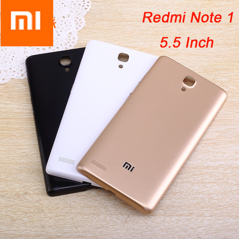High Quality Perfect fit for Redmi note 1 Replacement Back Battery Door Housing cover Hard case xiaomi redmi note1 Battery cover