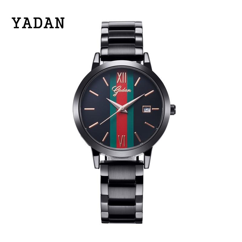 ФОТО YADAN - 8080G, costly IPJ electroplating women's watch, precision waterproof, high-end brand wrist watch, quartz watch fashion