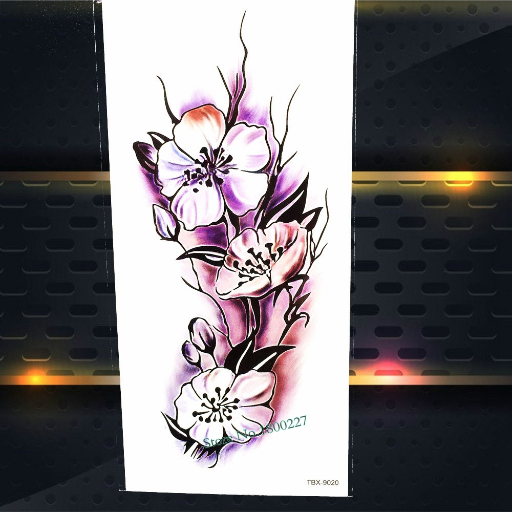 1PC Hot Cool Men Body Art Painting Water Transfer Disposable Tattoo Stickers PQS-B010 Henna Temporary Tattoo Totem Sleeve