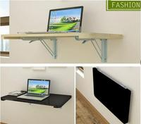 100 40CM Wall Hanging Laptop Table Wood Folding Notebook Table Children Study Desk Mutil Purpose Computer