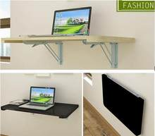100*40CM Wall Hanging Laptop Table Wood Folding Notebook Table Children Study Desk Mutil-Purpose Computer Desk(China)