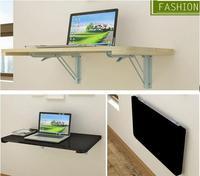 100*40CM Wall Hanging Laptop Table Wood Folding Notebook Table Children Study Desk Mutil Purpose Computer Desk
