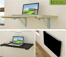 100*40CM Wall Hanging Laptop Table Wood Folding Notebook Table Children Study Desk Mutil-Purpose Computer Desk