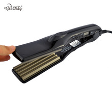 Best Buy High Quality Hair Wave Crimper Iron Fluffy Styling Professional Hair Straightener with Corrugated Plate Hair Ripple