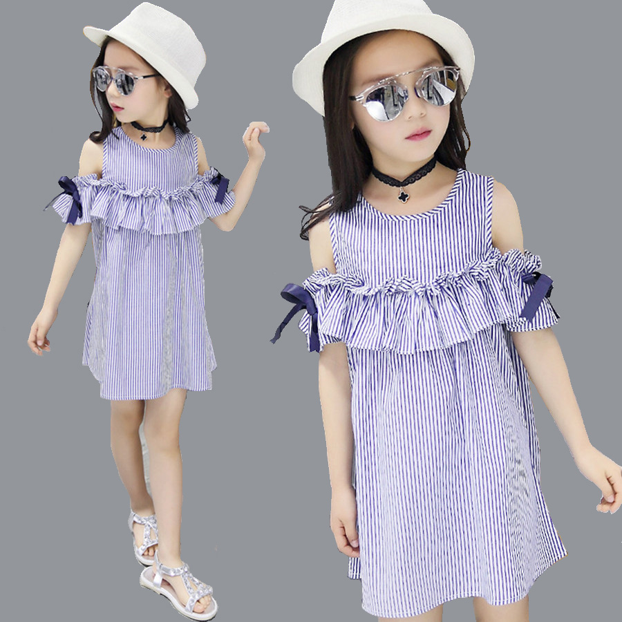 Beautiful crochet dresses for kids trendy - Girls Dress Lolita Cotton Sleeveless Plaid Dress Kids Beautiful Ruffle Dresses For Girls 2017 Pretty Summer