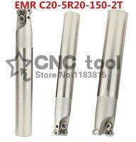 EMR C20-5R20-150-2T R5 wende Ende Mühle  Fräsen werkzeug  R5 Ring Cutter Für Fräsmaschine  150mm  mühle Halter Für RPMT1003MO