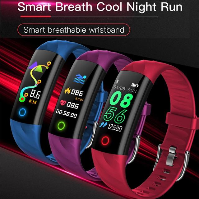 IP68 Waterproof Smart Bracelet Pedometer Heart Rate Monitor Blood Oxygen Fitness Tracker Smart Wristband Multi Sport Smart Band 5