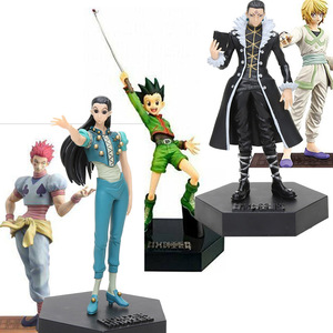 Image 1 - city Hunter X Hunter PVC Action Figure Toys Gon Freecss Killua Zaoldyeck Ichiban Kuji  Hiiro no Tsuioku HISOKA JOKER Diorama toy