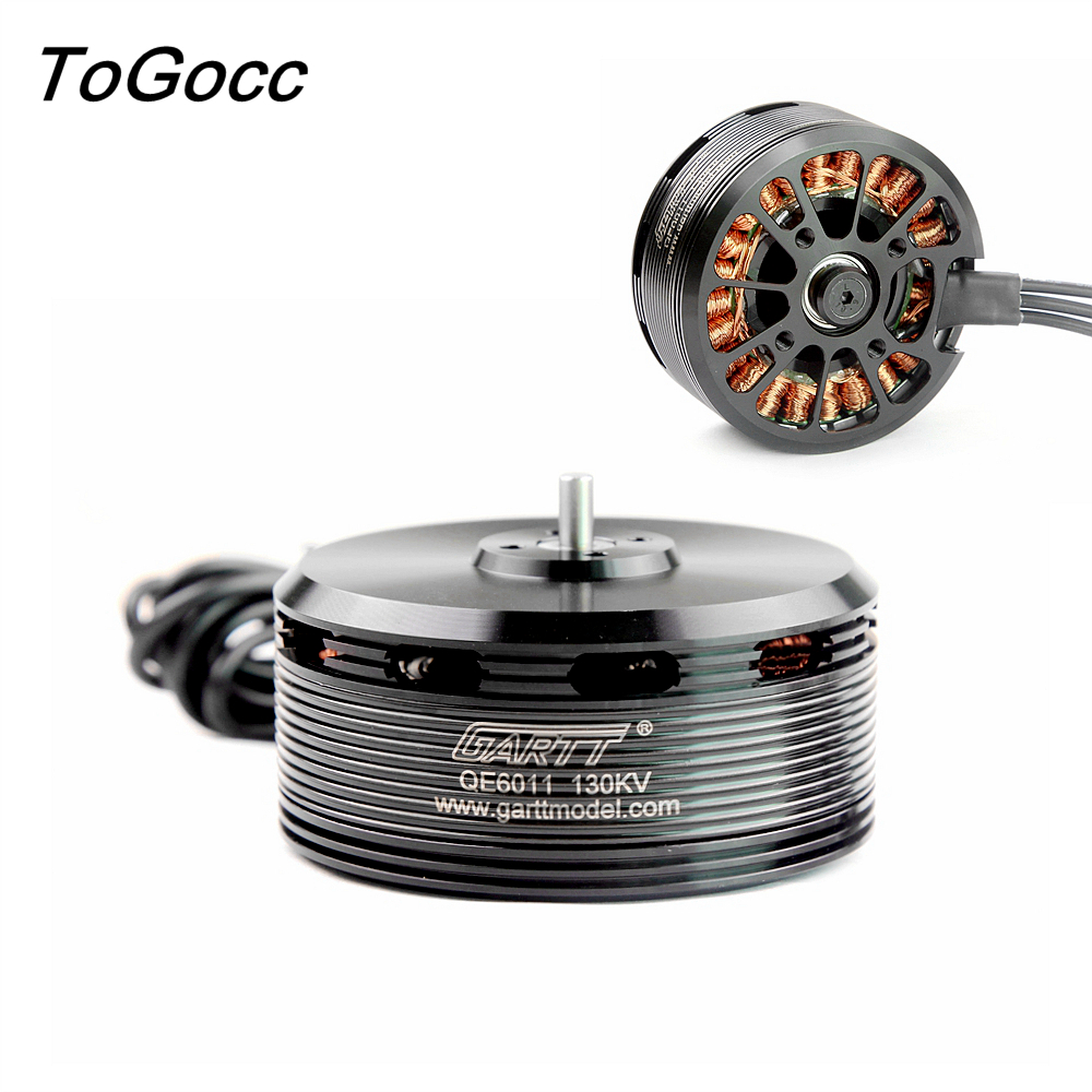 QE 6011 130KV Brushless Motor for Plant Protection Operations Hexacopter Octocopter Multicopter Drones gartt qe 6011 340kv brushless motor for plant protection operations hexacopter octocopter multicopter