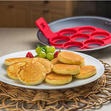 Nueva Antiadherente Cacerola Panqueque Tirón Fabricante de Desayuno Tortilla de Huevo Herramientas Para Hornear máquina de Crepes Panqueques Perfectos