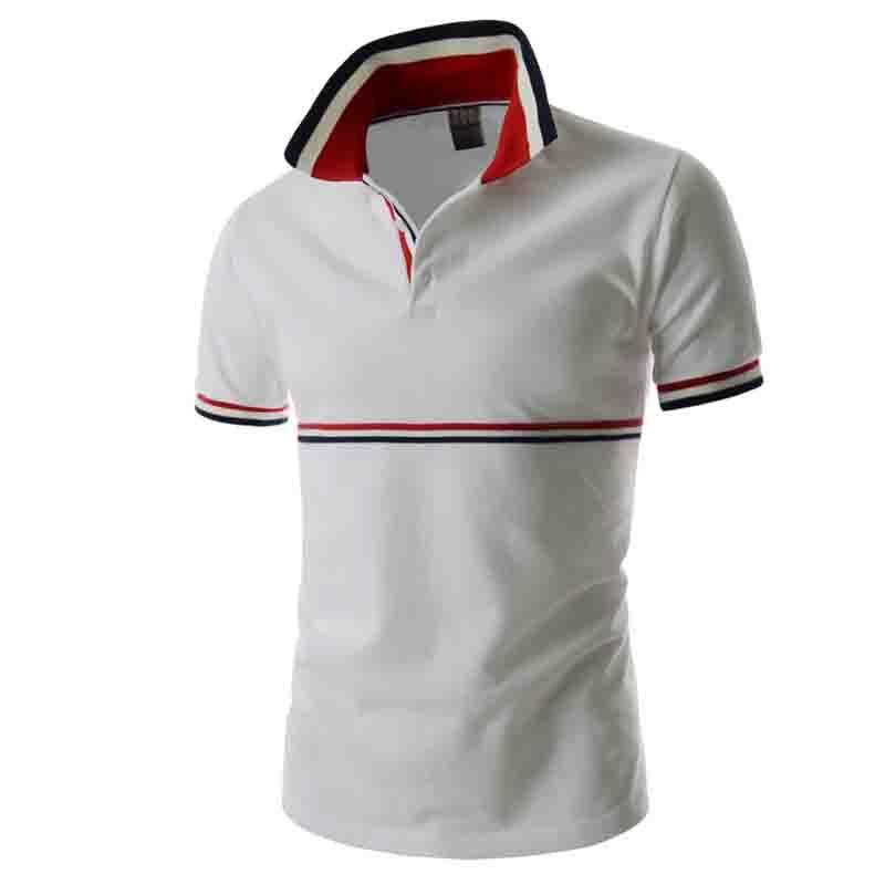 HOT 2019 Business casual summer wear Men's fashion short sleeve   polos   short sleeve   POLO   shirts men tees Top   polo   shirt men