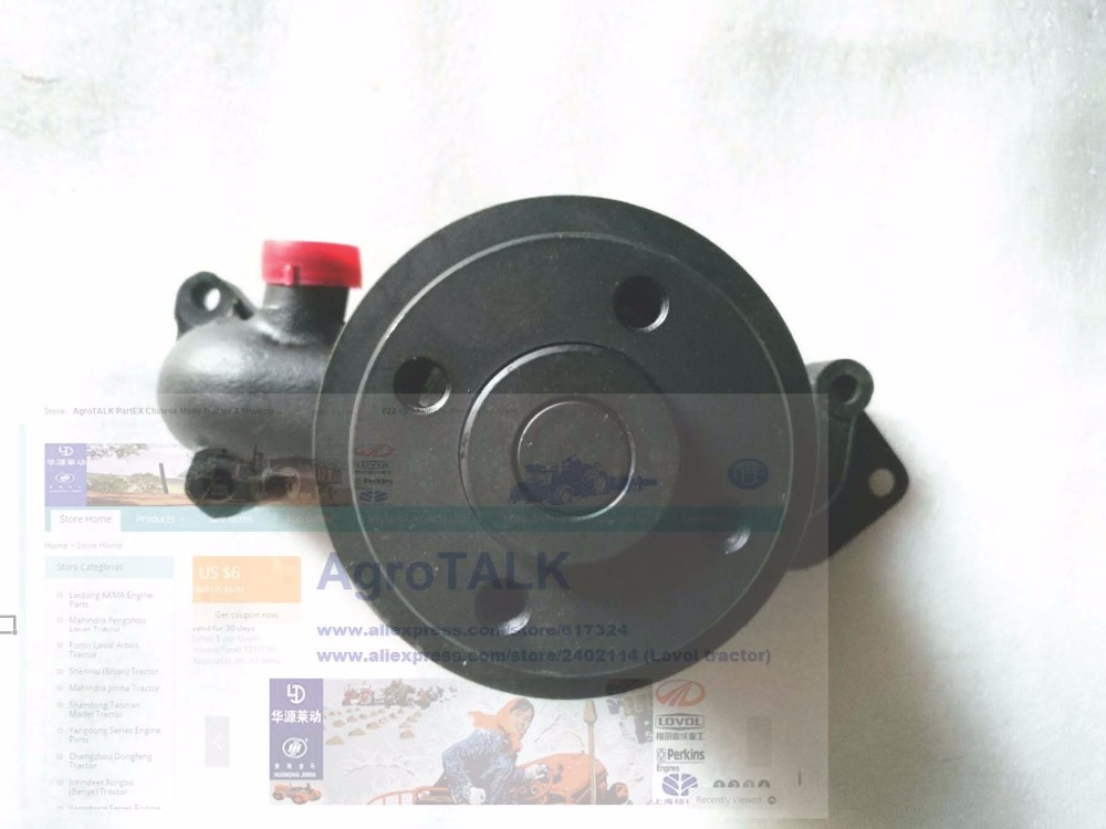 Yuchai engine for YCC30CD, the water pump assembly, part number: F7200-1307100B (can replace 7200-1307100A) mutoh vj 1604w rj 900c water based pump capping assembly solvent printers