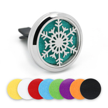 BOFEE Stainless Steel Magnet Car Essential Oil Diffuser Locket Aromatherapy Perfume Oil Locket Vent Clip Jewelry Gift 30MM bofee stainless steel magnet car essential oil diffuser locket aromatherapy perfume oil locket vent clip jewelry gift 30mm
