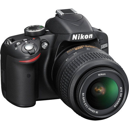 Nikon D30 DSLR Camera with 18-55mm Lens -24.2MP DX -Video (Brand New) 3