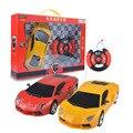 Modelo de juguete de control remoto rc cars toys niños máquina rc cars detector de 1:24 modelo rc cars toys 27 mhz 2ch wireless A154