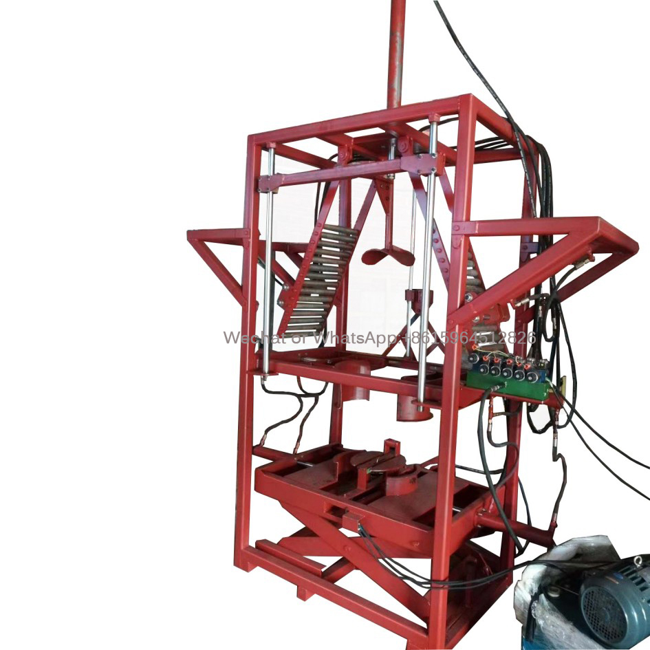 Hydraulic Oil based Load Tire Machine Pressing Tire Machine Tyre Tripling Machine Tyre Packing Machine