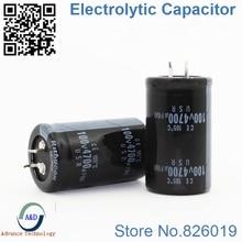6 teile/los 100 V 4700 UF Radial DIP Aluminium elektrolytkondensatoren größe 30*50 4700 UF 100 V Toleranz 20%