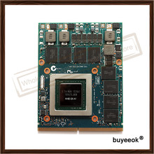 Original GTX980M GTX 980 Mt Graphics GPU Karte N16E-GX-A1 8 GB GDDR5 Für Alienware Clevo GTX980 Grafikkarte GPU Ersatz