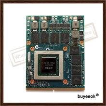 Original GTX980M GTX 980M Graphics GPU Card N16E-GX-A1 8GB GDDR5 For Alienware Clevo GTX980 Video Card GPU Replacement