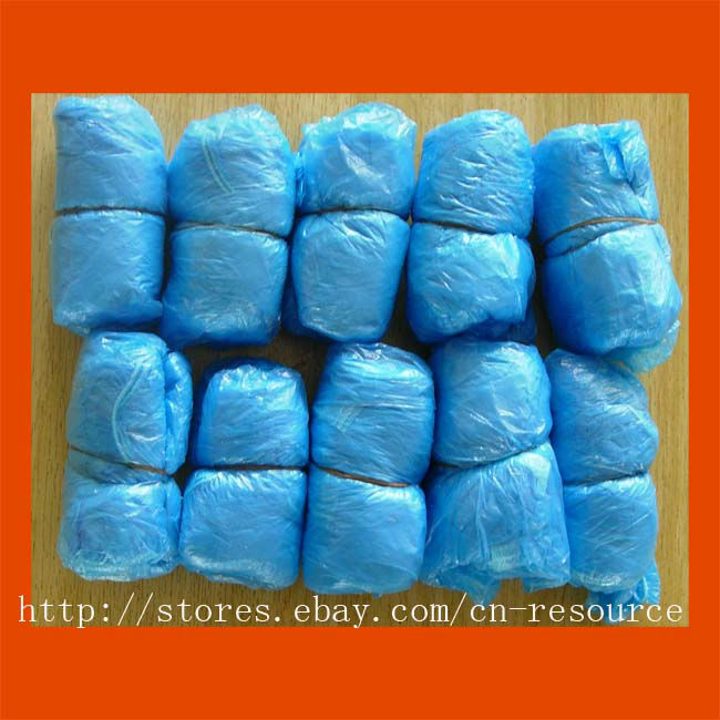 200 Pcs Disposable Shoe Covers Carpet Cleaning Overshoe
