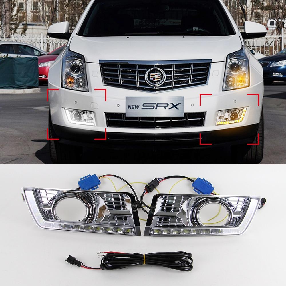 2013 Cadillac Srx 2019 2020 Top Upcoming Cars Honda Express Wiring Diagram 1980 Car Drl Kit For 2012 2014 Led Daytime