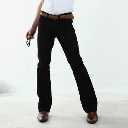 2017 Neue Herrenbekleidung Vintage Klassische Business Casual Micro Ausgestelltes Hosen Male Custom Made Fashion Plus Größe Männer Hosen S-xxl