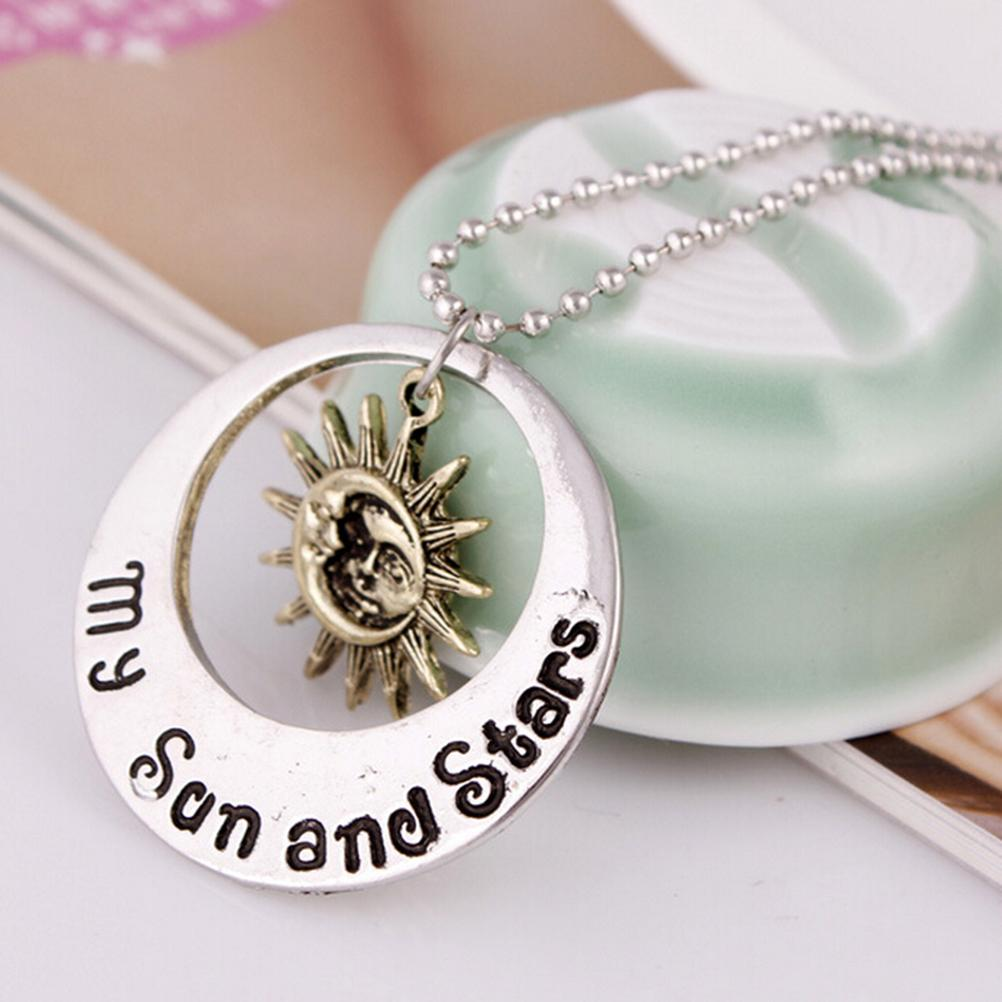 1Pcs Fashion Style Necklace Game of Thrones Moon of My Life My Sun and Stars Pendant Necklace Women Men Girl Boy Gift