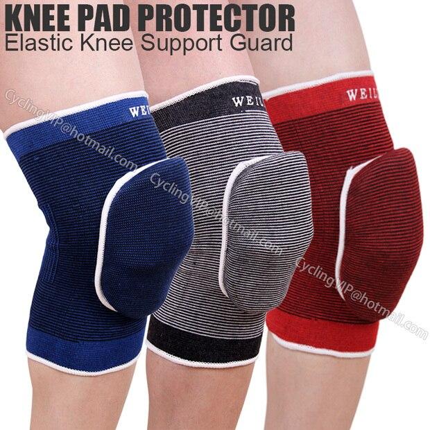 Original WEILI sports knee pad high elastic sponge knee guard football cycling motorcycle knee support brace protector