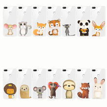 zebra penguin Bear fox Koalas lion bird panda tiger rabbit Hedgehog animal Phone Case for Honor 8 9 10  lite