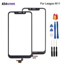 Для Leagoo M11 сенсорный экран стеклянная панель Замена для Leagoo M11 телефон запчасти с бесплатными инструментами