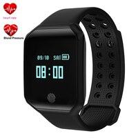 Smart Watch Men Women Heart Rate Blood Pressure Pulse Monitor Fitness Tracker Z66 Wristband Waterproof Bracelet