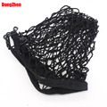 Dongzhen Car Rear Luggage Cargo Net Trunk Vehicle Elastic Mesh Storage Holder 4 Hook Black For Eescape KUGA 2013 1pcs