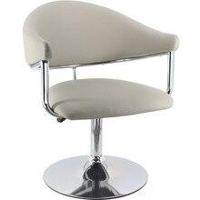 Простой парикмахерский стул парикмахерский салон специализированный парикмахерский стул для салона красоты американский стиль тренд сетка красное подъемное кресло Dotomy