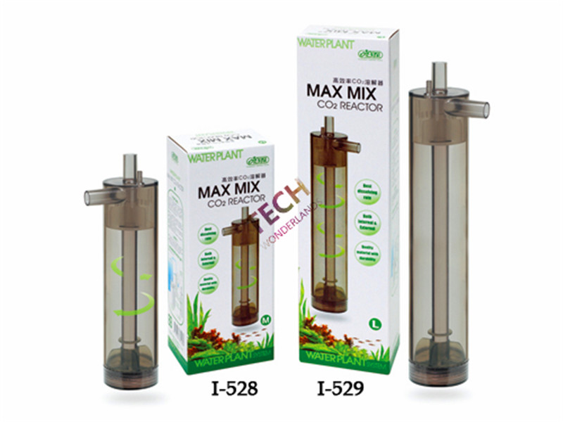 Original Ny ISTA Akvarium Intern og Ekstern Max Mix CO2 Diffuser Reactor for Plant System