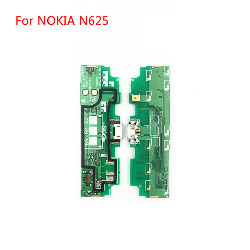 New For <font><b>Nokia</b></font> <font><b>Lumia</b></font> <font><b>625</b></font>/N625H Micro <font><b>USB</b></font> <font><b>Charging</b></font> Dock <font><b>Port</b></font> Charger Connector Plug PCB Board Flex Ribbon Cable image