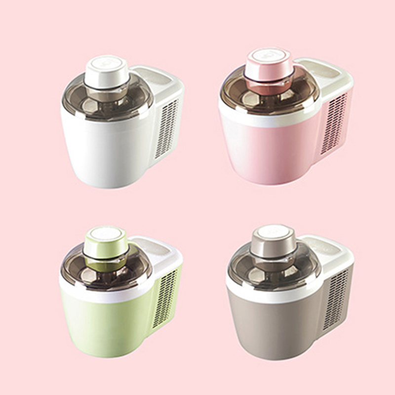 Mini Fruit Ice Cream Maker Automatic Ice Cream Machine 220V 90W Household Soft / Hard Ice Cream Machine ICM-700A-1 bl 1000 automatic diy ice cream machine home children diy ice cream maker automatic fruit cone soft ice cream machine 220v 21w