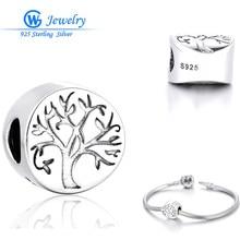 Árbol de la vida encanto colgante de plata de ley 925 para christams regalo diy alibaba expreso hallazgos missangas gw fine jewelry t108h10