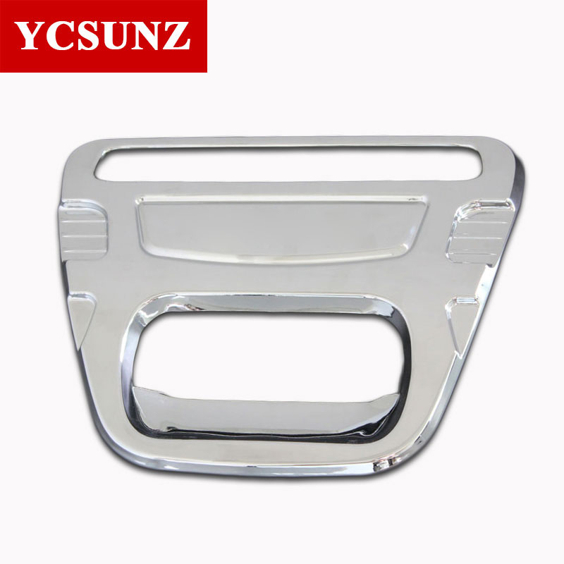 For Toyota Hilux Accessories ABS Chrome Design Tail Gate Trim Rear Handle Insert For Toyota Hilux Vigo 2012 2013 2014 Ycsunz
