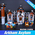 New Lepin 07055 Genuine Batman Movie Series THe Arkham`s Lunatic Asylum Set  Building Blocks Bricks Toys