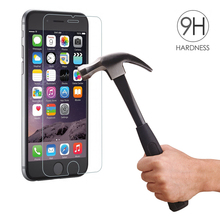 Premium 0.3mm 2.5D Tempered Glass Screen Protector for Apple iPhone 7 6 5S SE 5C 5 4 4S 6S Plus Explosion Proof Protective Film