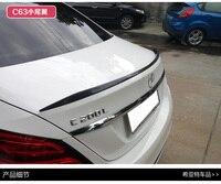Fit para Mercedes-Benz C w205C200lC300lC260l c63 AMG modificado fibra de carbono asa traseira spoiler traseiro asa