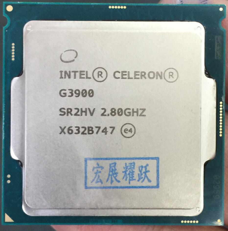 Intel  Celeron PC Computer Desktop  Processor G3900  LGA1151 14 Nanometers  Dual-Core  100% Working Properly Desktop Processor