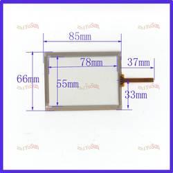 Zhiyusun3.5 дюймовый 4 провода резистивный сенсорный Панель 85 мм * 66 мм дюймов Сенсорный экран Стекло для коллектора Сенсорный экран это