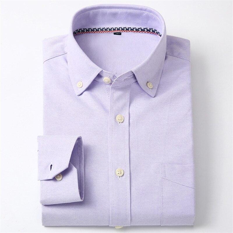 2016 Nuevo Diseño de Moda Casual Hombres de Negocios Camisa de Manga - Ropa de hombre - foto 6