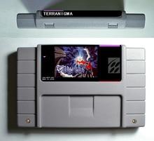 Terranigma-RPG Игры Картридж Экономии Заряда Батареи 16 бит 46 pin США Версия