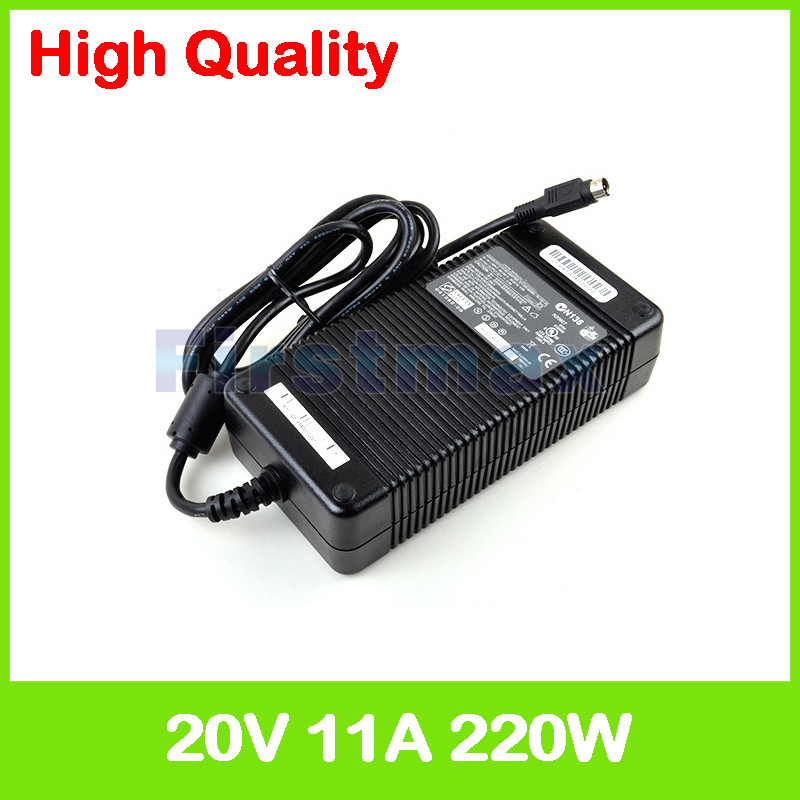 20V 11A 220W AC adapter PA 1221 03 laptop charger for