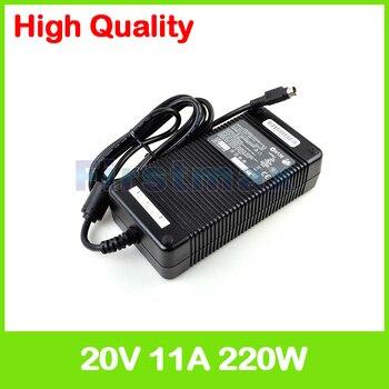 Adaptador de corriente alterna de 20V 11A 220W PA-1221-03 cargador de ordenador...