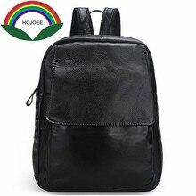 Натуральная кожа рюкзак женщины Школьные ранцы для девочек-подростков старинные ноутбук Рюкзаки женские школьные рюкзаки для девочек